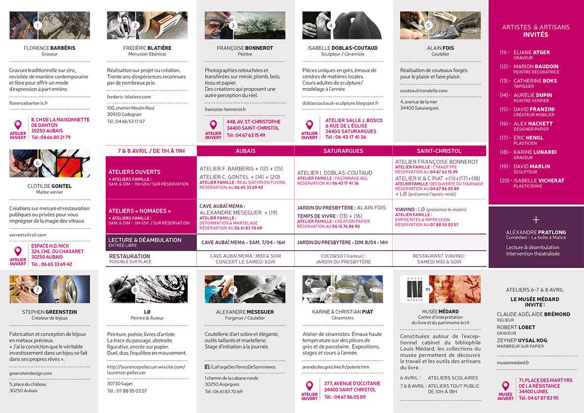 Programme Les mains savantes JEMA 2018