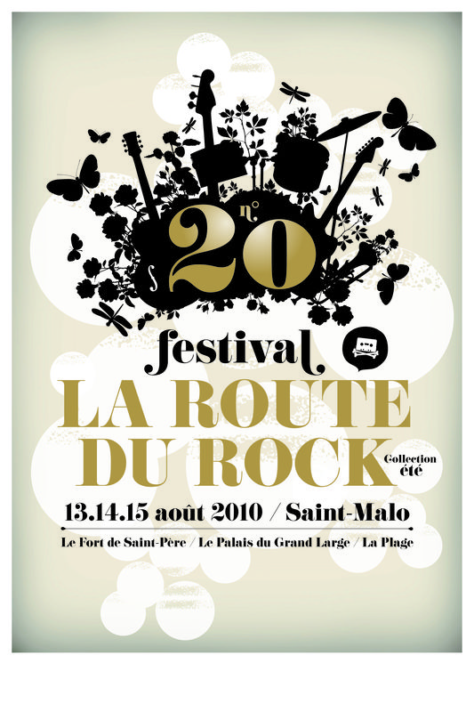 la Route du Rock 2010 - 20ème édition - Saint-Malo (35)