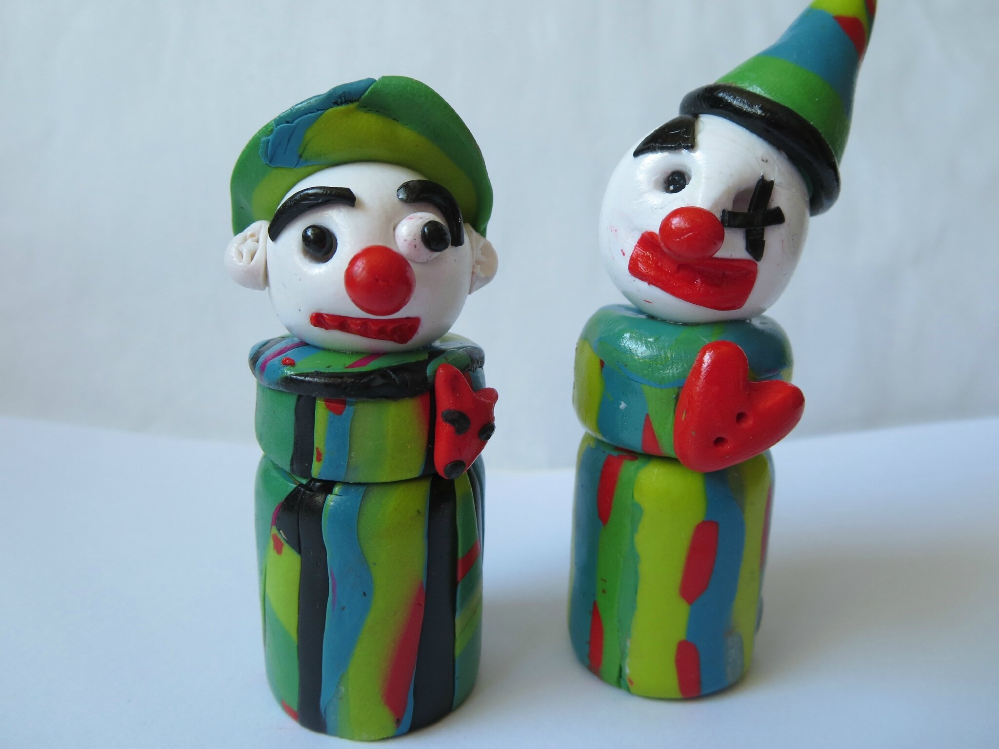 clowns blancs