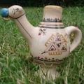 Retour en France : un chameau de Guellala dans mon jardin, c'est magique !
