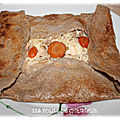 Galette poule au pot...ou comment accommoder des restes....