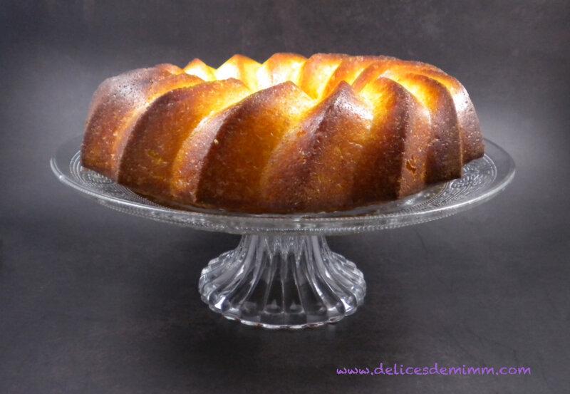 Gâteau moelleux à l'orange 4