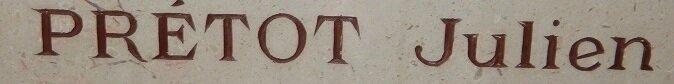 pretot inscription chapelle des buis