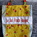 Le sac à cadeaux fruits rouges n°263
