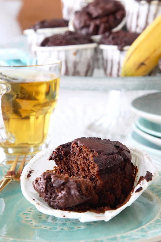 banana muffins au chocolat extra moelleux 00004 LE MIAM MIAM BLOG