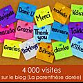 4 000 visites en 4 mois... merci !