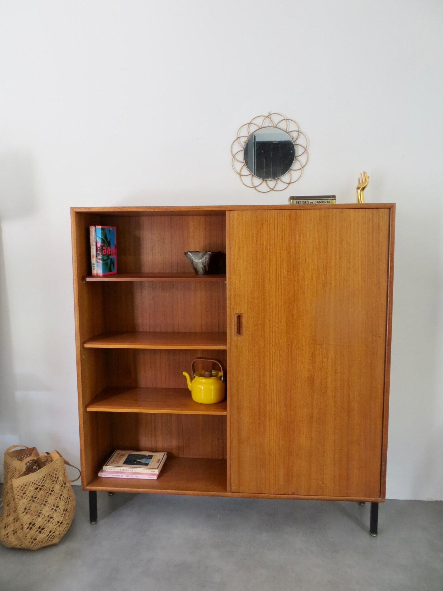 Armoire Bibliotheque Scandinave Vintage Meubles Vintage Pataluna Chines Deniches Et Delures