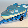 Matchbox superfast « boat & trailer » ...