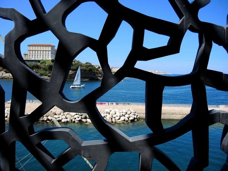 Marseille, le Mucem, vue sur mer 1 (13)