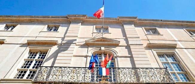 Nimes (Gard) mairie
