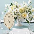 Numéroter vos tables, une autre idée