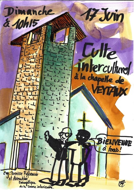 Culte interculturel Veytaux 17 Juin