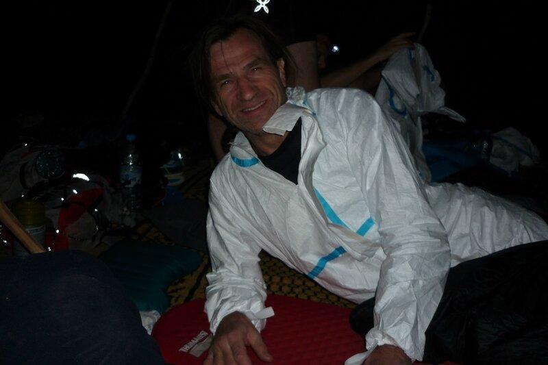 Première nuit sous la tente