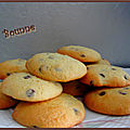 Cookies moelleux choco coco