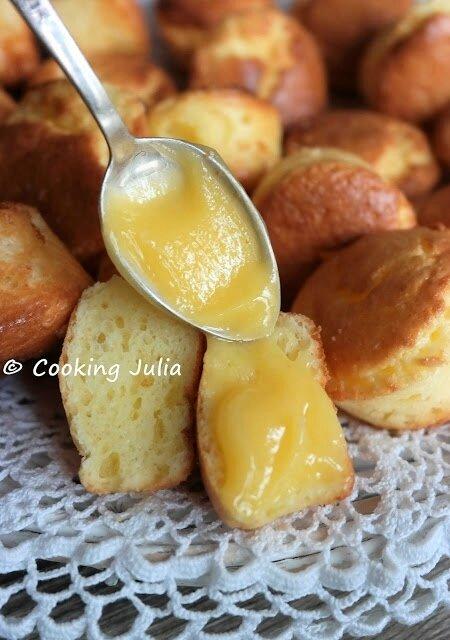 A Julia xMini-muffins moelleux au lemon curd 9