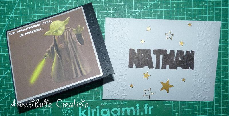 Carte anniversaire Star Wars - 24 oct 17