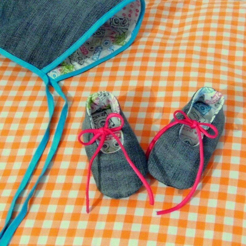 chaussons doublés réversibles