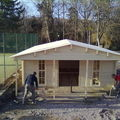 Construction du clubhouse