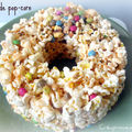 {gateau de pop-corn} pop-corn cake
