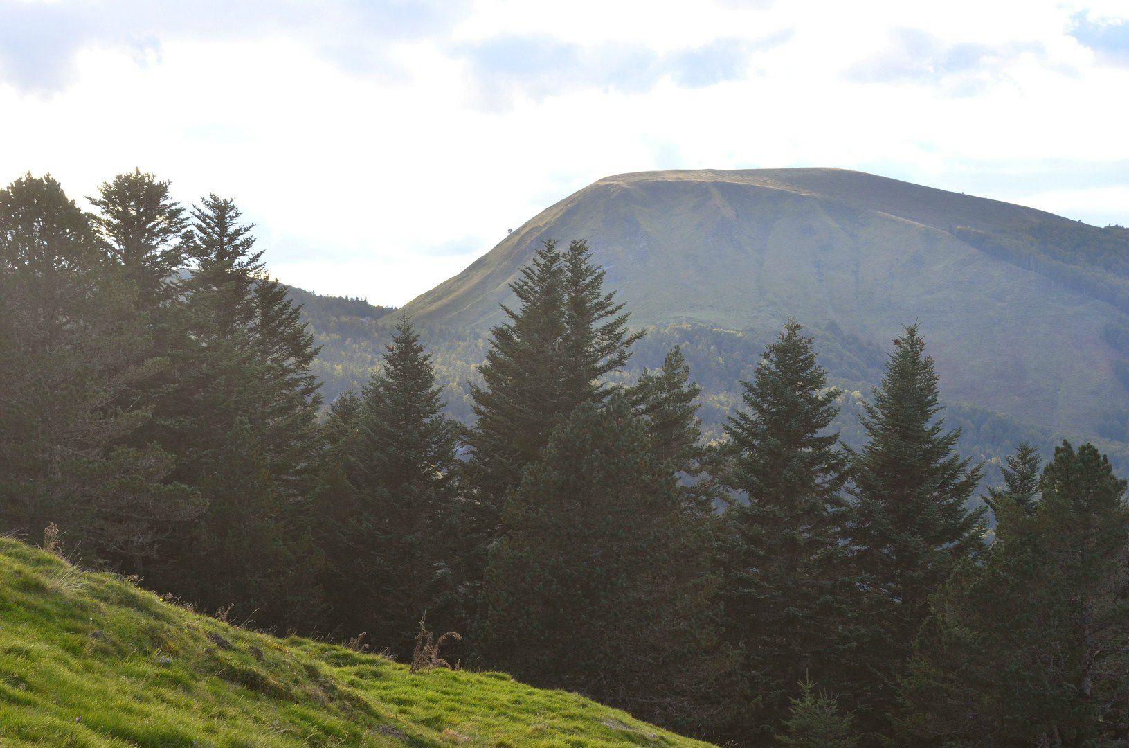 Le Pic de Guilhers (1597 mètres) depuis Barlagne...
