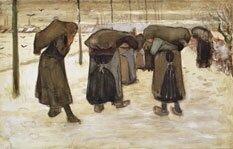 Dessin Van Gogh - les sclôneuses