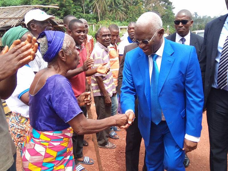 Suite au franc succès de la tournée dans le Lôh-Diiboua/ Les remerciements du Président Abou Drahamane Sangaré