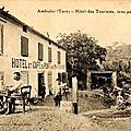 L'hôtel du pont (photos anciennes)