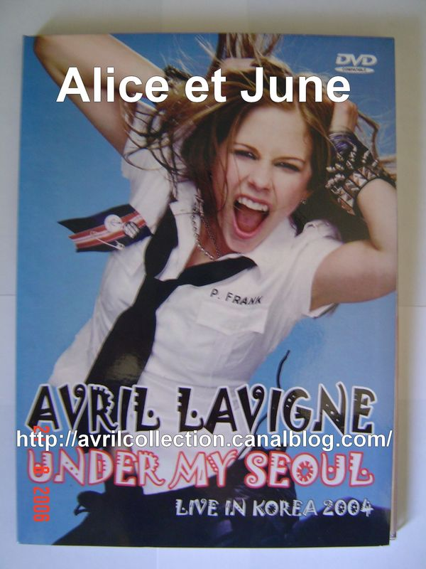 DVD Avril Lavigne Under My Seoul Live in Korea 2004 (2005)