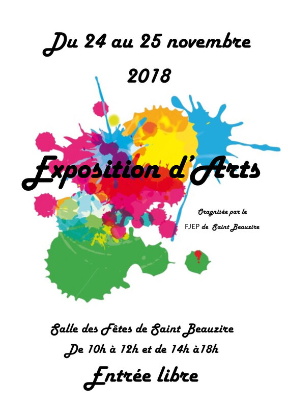 Affiche Expo 2018