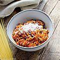 Spaghetti al dente soubry - à la saucisse italienne