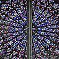 rosace de la cathédrale Saint-Gatien à Tours