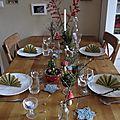 Table de fête... weihnachtstisch...