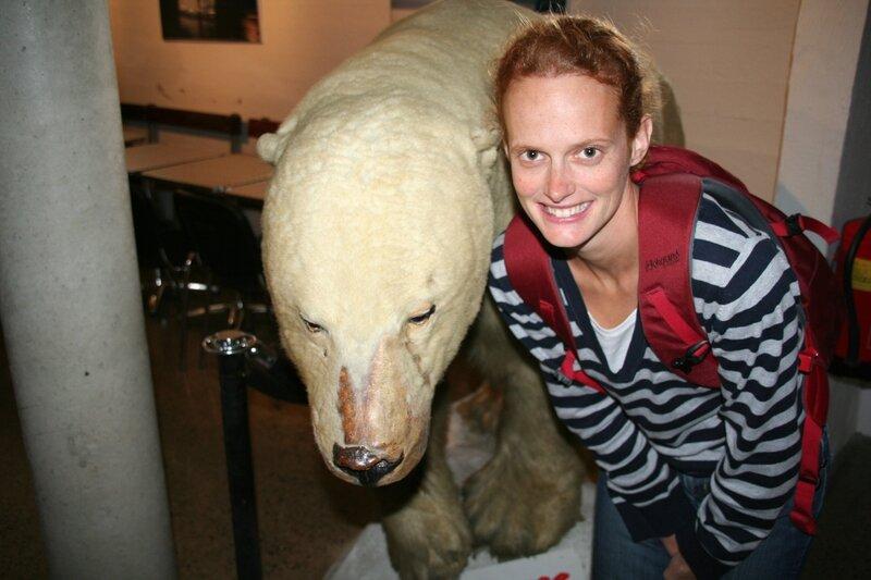 l'ours polaire et Marine