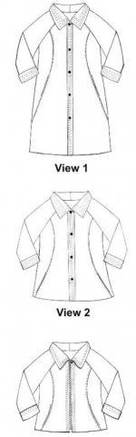 Sewn Square One - Upline Jacket