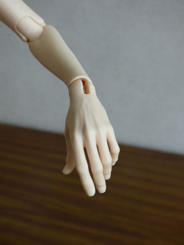 008 Détail de la main