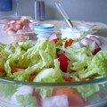 Salade croquante carottes-radis-choux