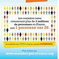 Journée nationale contre les maladies orphelines les 13 et 14 juin 2010