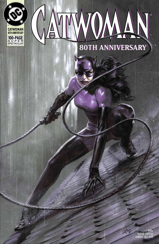 catwoman 80th anniversary special 1990 gabriele dell otto variant