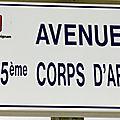 Draguignan - avenue du 15e corps