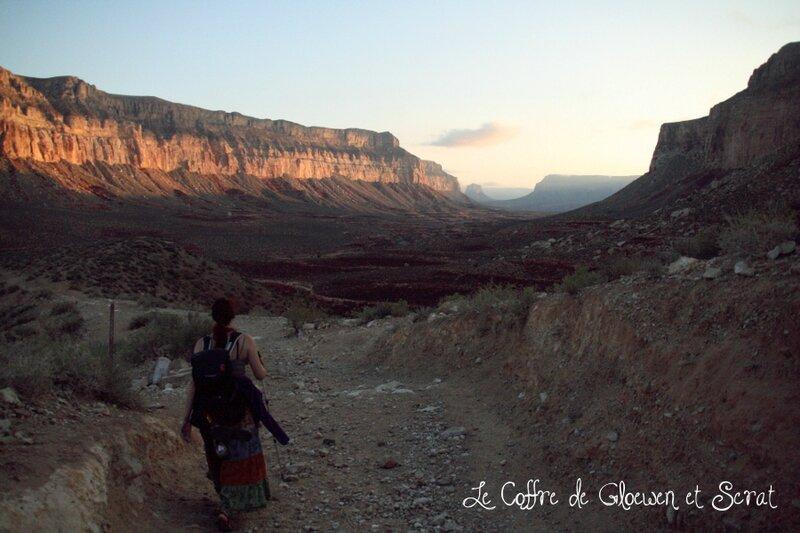 Le Grand Canyon chez Gloewen et Scrat