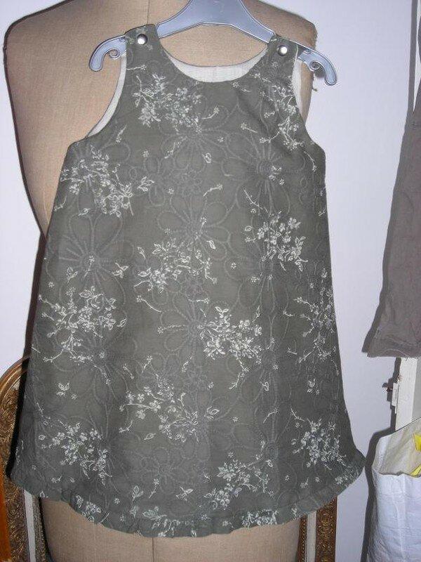 Intemporels - robe trapèze à volant
