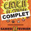 Catch-impro du 21 février : c'est complet !!