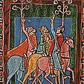 ROMAN 1140_Les rois mages suivant l'étoile (Angleterre)