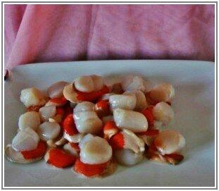 St Jacques sauce corail 6