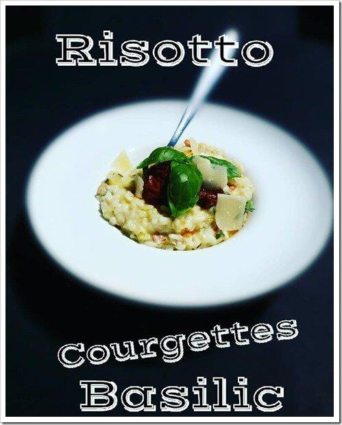 RISOTTO COURGETTES BASILIC