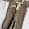 combinaison en cachemire, laine et modèle La Droguerie