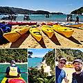 Honeymoon to new zealand : abel tasman and the west coast