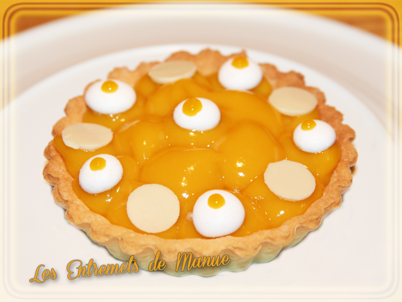 Tartelette passion mangue