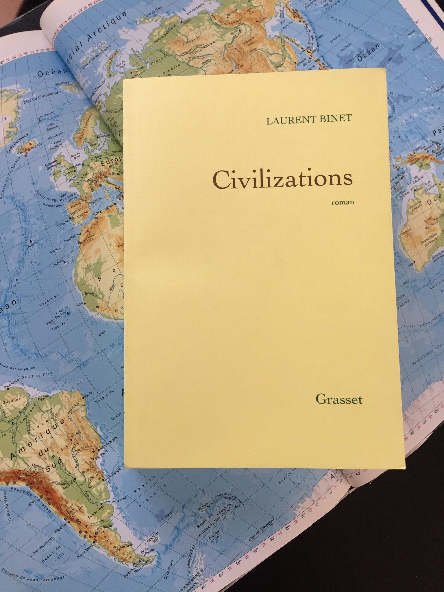 « Civilizations » de Laurent Binet