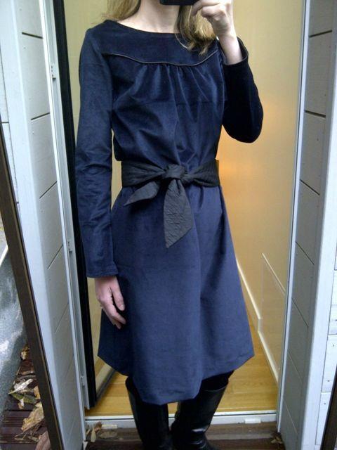 Bleu nuit Dress (1)